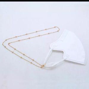 Mask neck holders also holds glasses
